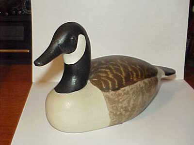Read more about Herb Daisey Jr - Mini Carved Canadian Goose