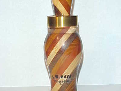 J.W. Hays (1925-2014) Milan, TN - Laminated Duck Call