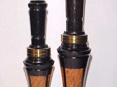 Joe Kolter - Cedar Rapids, IA. - Laminated Duck & Goose Call Matched Set